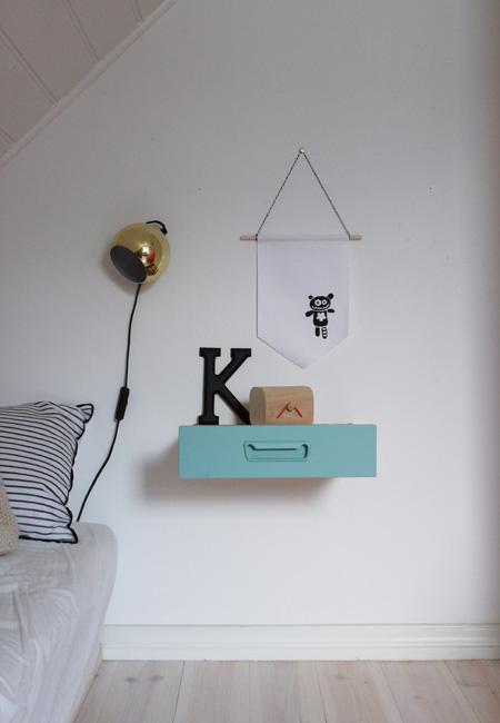 Våg å spill på humor. Morsomme monstre på barnerommet er gøy! FOTO: Christine Renée Kjellby / Møbelpøbel