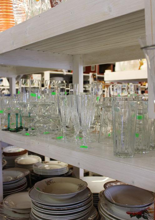 GAVETIPS: Du kan finne unike glass i bruktbutikker.