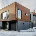 TETT: Det gamle huset forbindes med det nye via et mellombygg. FOTO: NRB Scanpix