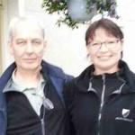 GODE NABOER: Magne Krydsby og Brita Stuenes er blant pådriverne i Vestre Vadmyra. FOTO: Privat