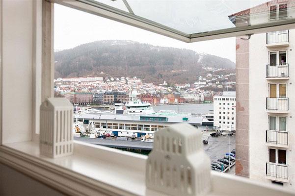 Sjøutsikten er med på kjøpet. FOTO: DNB Eiendom