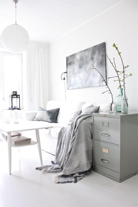 BOSS?: Kule møbler kan man finne overalt, også i en container. FOTO: Stina Andersen /Fru Andersen