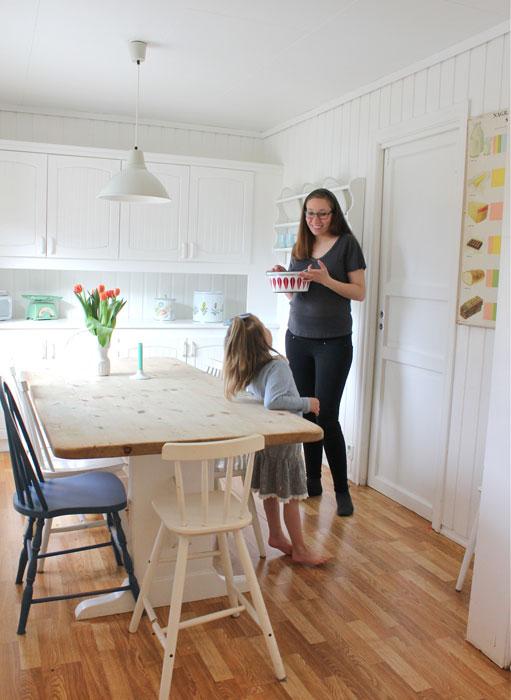 GRATIS: Lillesøsteren min er en racer på bruktkupp. Hun har møblert et helt hus med kupp fra finn.no og rimelige kjøp fra loppemarked. FOTO: Stina Andersen / Fru Andersen
