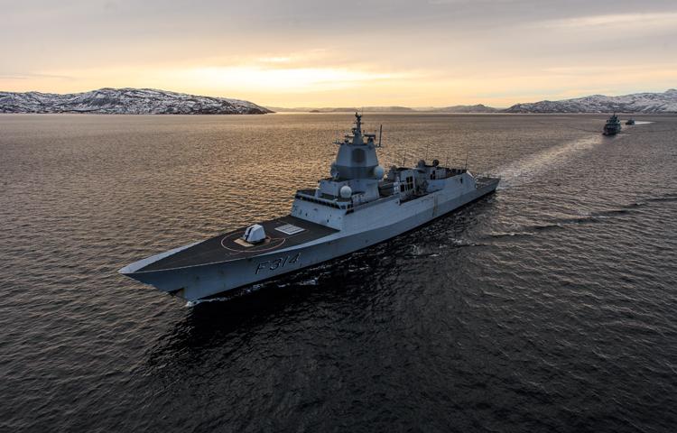 fregattaltarett