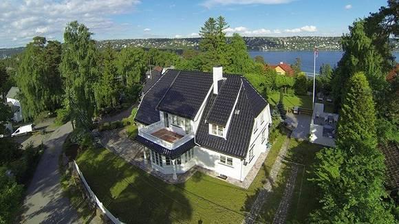 STOR: Herskapelig eiendom på Malmøya. FOTO: MED TILLATELSE FRA NORDVIK & PARTNERS
