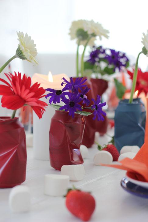 GJENBRUK: Pant alt, alltid, eller lag noen kule vaser. FOTO: Stina Andersen / Fru Andersen