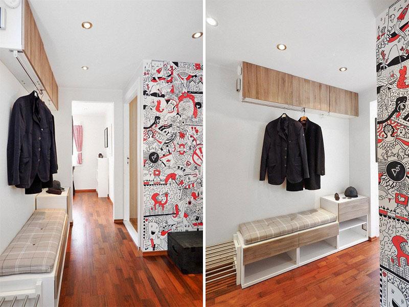 Maleri arbeid i leiligheten