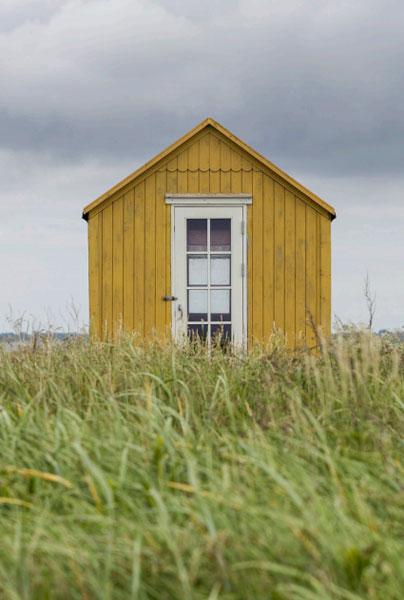 ROMSLIG: Noen badehuseiere har det litt mer romslig rundt seg. FOTO: Alf Ole Hansen