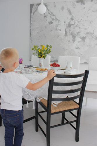 ALLE HJERTER BANKER: En ting er sikkert, familien kommer løpende i det duften av nystekte vafler sprer seg i huset. FOTO: Stina Andersen /Fru Andersen