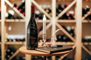 VINKJELLER: Didrik T. Martens har anlagt vinkjellr i huset. FOTO: Privatmegleren Vikebø & Jørgensen