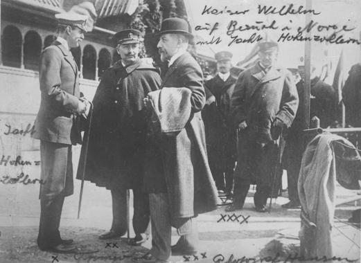 NORGESVENN: Keiser Wilhelm var en sann norgesvenn og besøkte Norge omtrent hver år. FOTO: DIGITALMUSEET