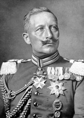 UNG KEISER: Wilhelm ble keiser da han var 29 år gammel. Han hadde en skade i den venstre armen. FOTO: Digitalmuseet