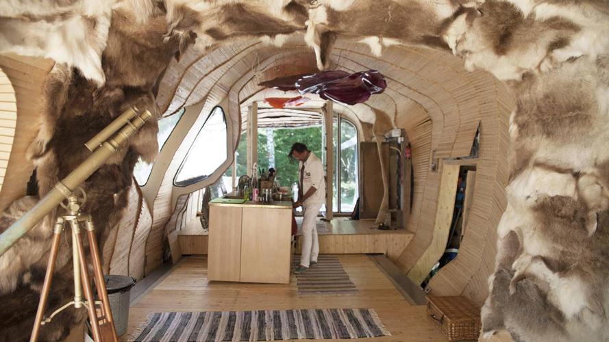 OPPMERKSOMHET: Huset har ført til mye internasjonal oppmerksomhet, noe som har skaffet arkitektkontoret flere spektakulære oppdrag, alle med et miljøperspektiv. FOTO: Karen Gjermundrød